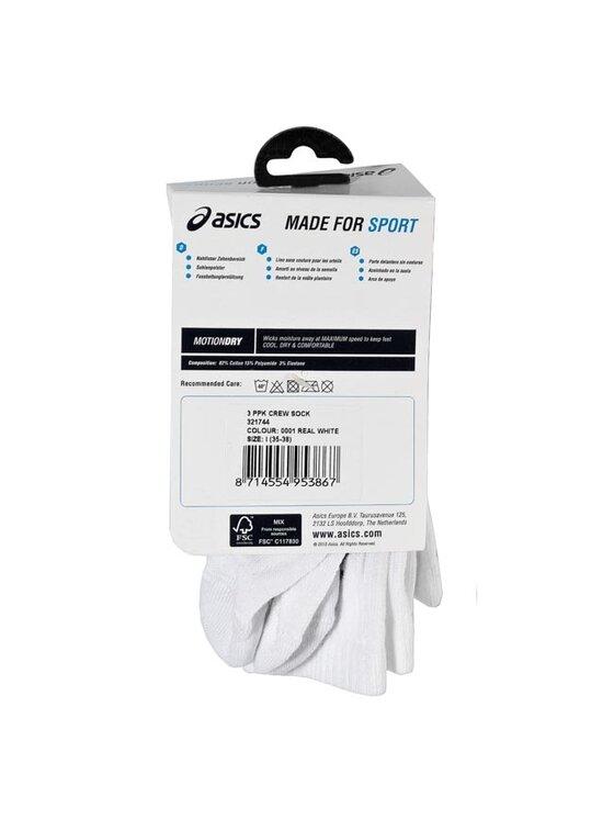 Asics Asics Set de 3 perechi de șosete medii unisex 321744 Alb