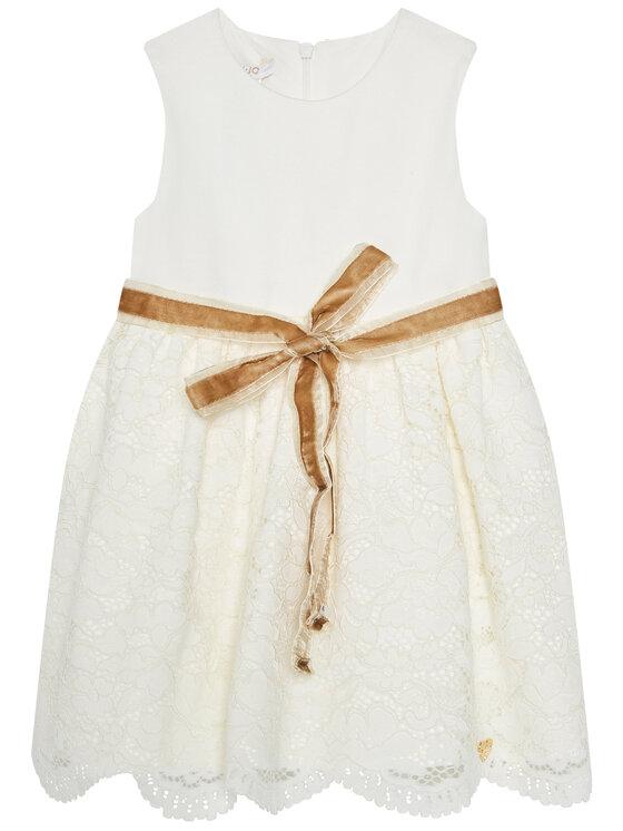 Liu Jo Kids Elegantiška suknelė HF0085 J5473 Smėlio Regular Fit