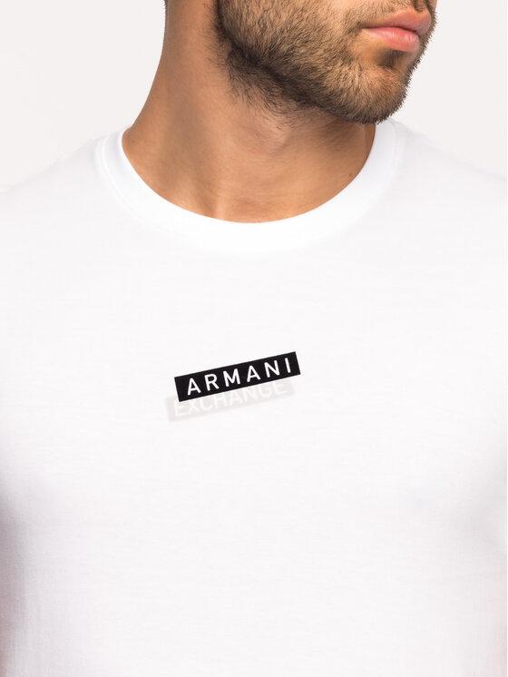 Armani Exchange Armani Exchange T-Shirt 6GZTDR ZJV5Z 1100 Bílá Regular Fit