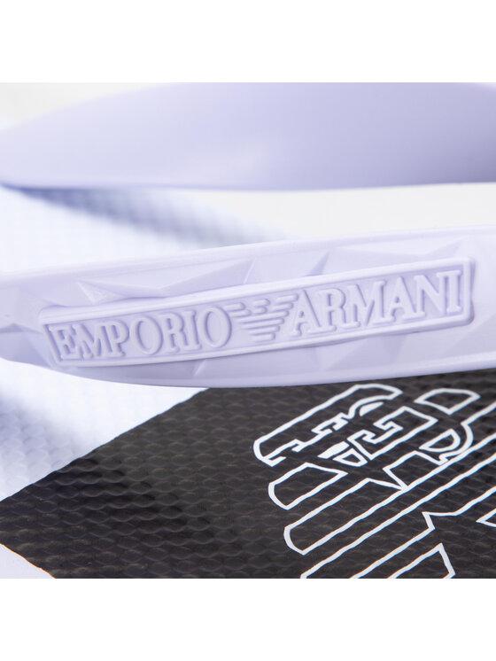 Emporio Armani Emporio Armani Žabky X4P070 XL699 A227 Bílá