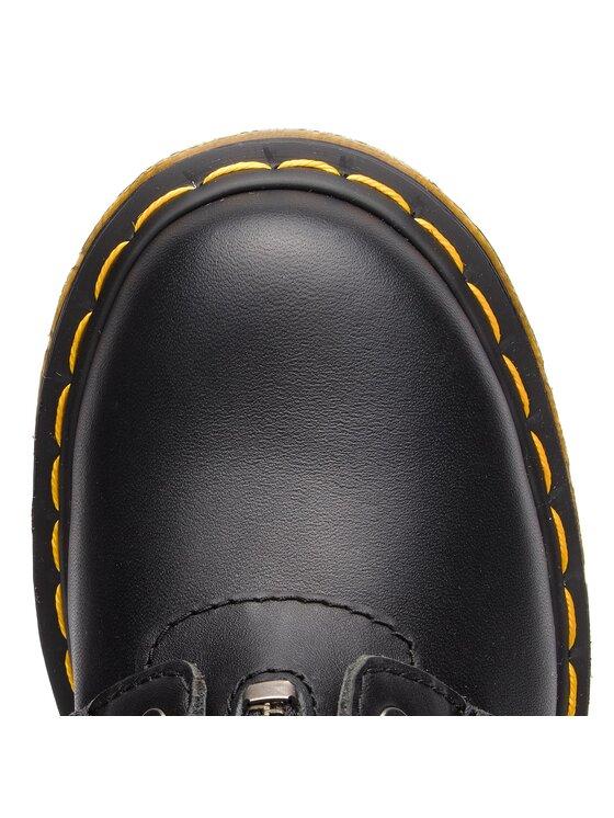 Dr. Martens Dr. Martens Chaussures Rangers 1460 Pascal Frnt Zip 23863001 Noir