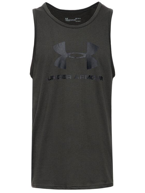 Under Armour Under Armour Tank top UA Sportstyle Logo 1329589 Czarny Loose Fit