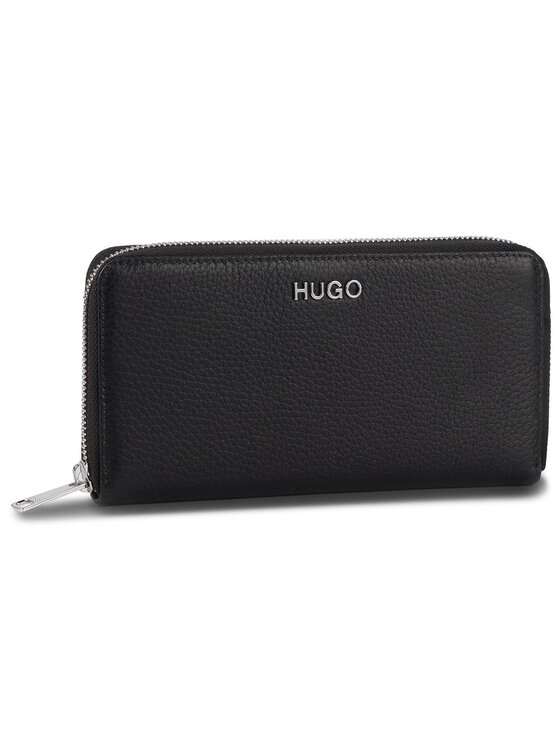 Hugo Hugo Duży Portfel Damski Mayfair Ziparound 50397601 Czarny