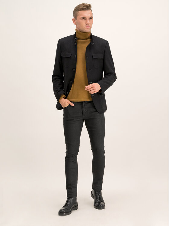 Guess Guess Skinny Fit džínsy Miami M94AN1 D2R81 Čierna Super Skinny Fit