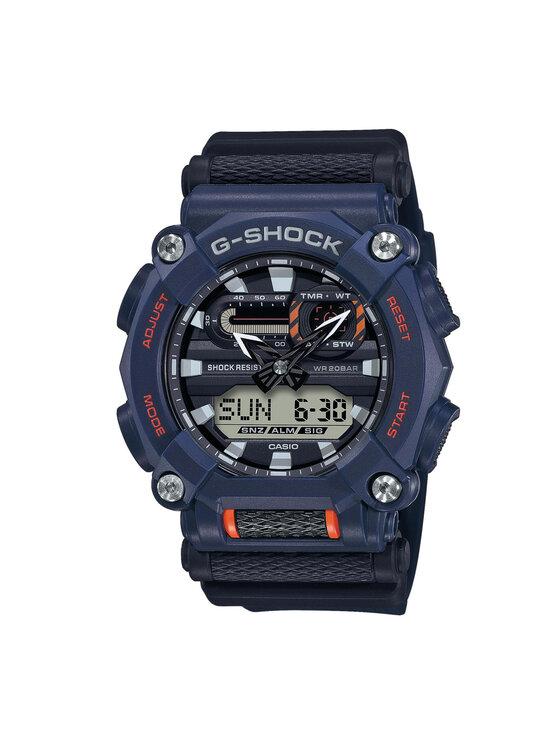 G-Shock Laikrodis GA-900-2AER Tamsiai mėlyna