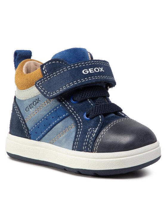 Geox Auliniai batai B Biglia B. A B044DA 0CL22 C4368 Tamsiai mėlyna