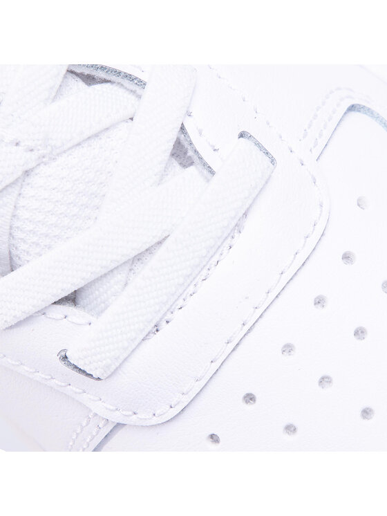 Nike Nike Buty Court Borough Low 2 (Psv) BQ5451 100 Biały