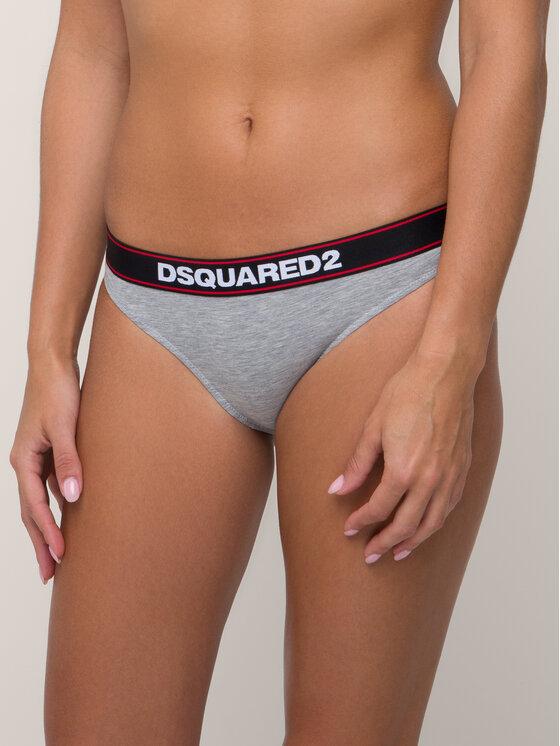 Dsquared2 Underwear Braziliškos kelnaitės D8L612480 Pilka