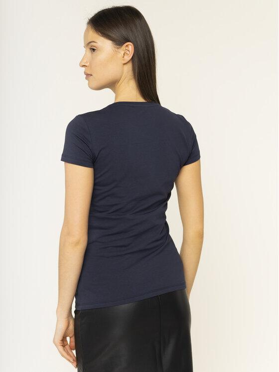 Guess Guess T-Shirt Crystal W01I74 J1300 Σκούρο μπλε Regular Fit