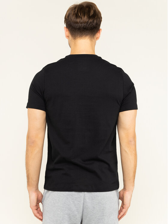 Nike Nike T-Shirt NSW Tee Swoosh AR5027 Schwarz Standard Fit