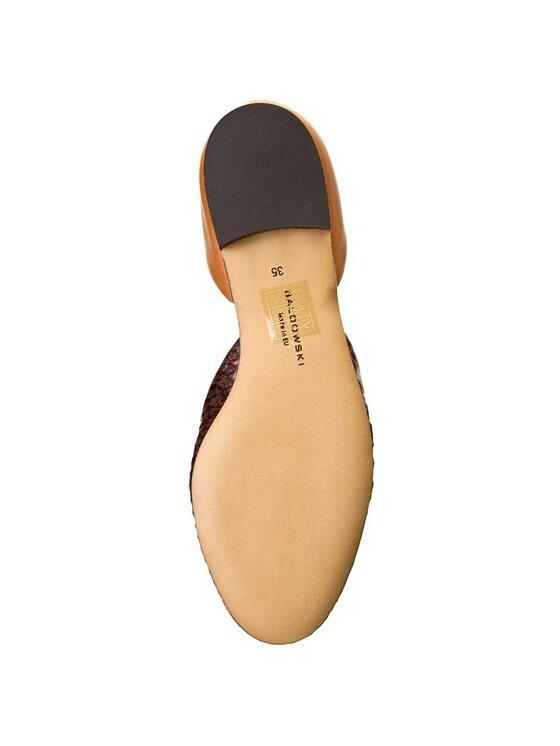 Baldowski Baldowski Κλειστά παπούτσια D01049/003 Καφέ
