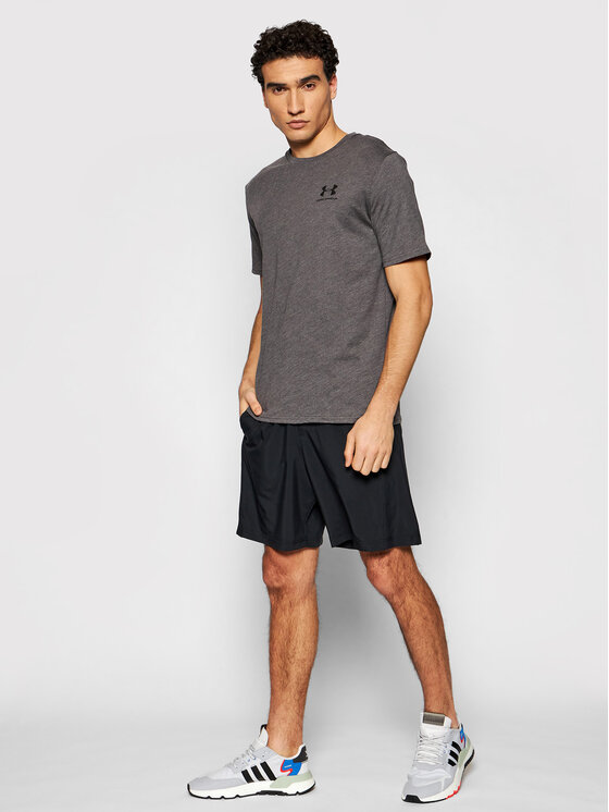 Under Armour Under Armour T-Shirt 1326799 Szary Loose Fit