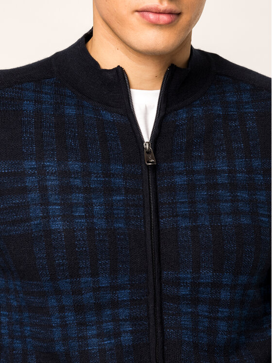 Pierre Cardin Pierre Cardin Pullover 55899/000/92550 Dunkelblau Regular Fit