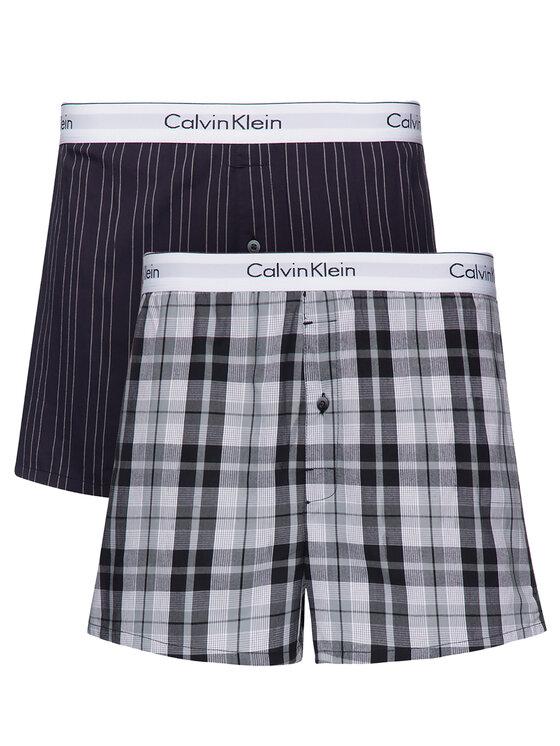 Calvin Klein Underwear Calvin Klein Underwear Komplektas: 2 poros trumpikių 000NB1396A Spalvota Slim Fit