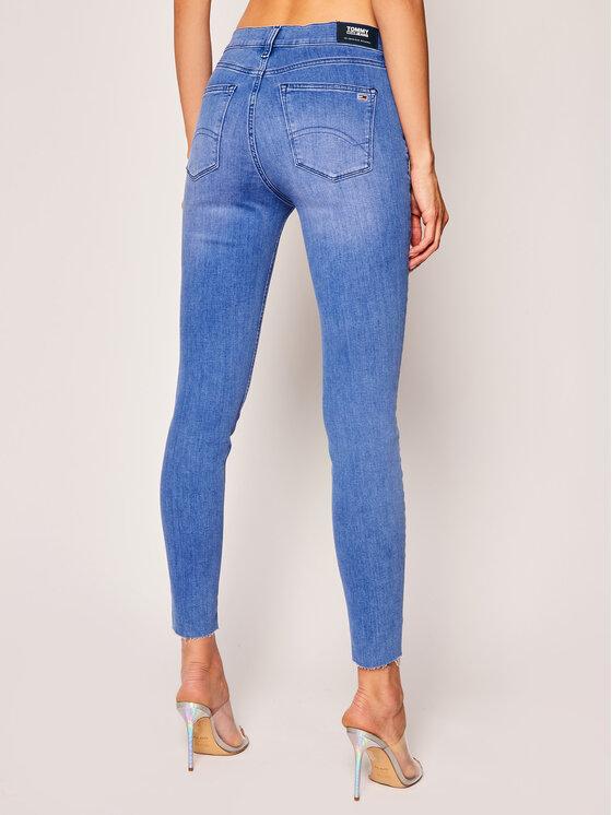 Tommy Jeans Tommy Jeans Skinny Fit džíny Nora Ankle DW0DW08206 Modrá Skinny Fit
