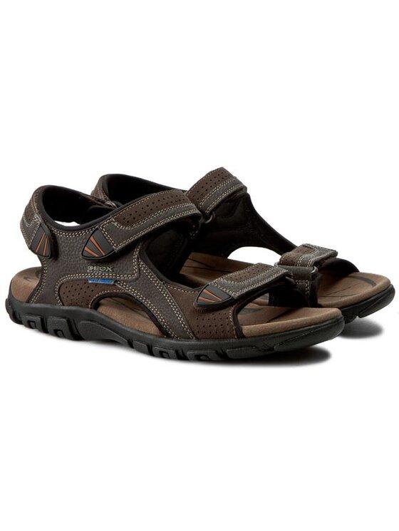 Geox Geox Sandále U S.Strada Wf C U6224C 0AU50 C6024 Hnedá