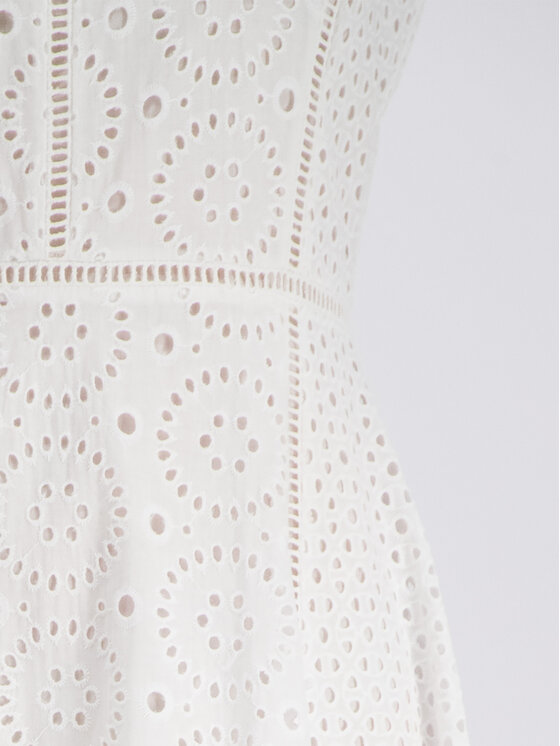 DKNY DKNY Rochie de vară P9CBEATE Alb Regular Fit