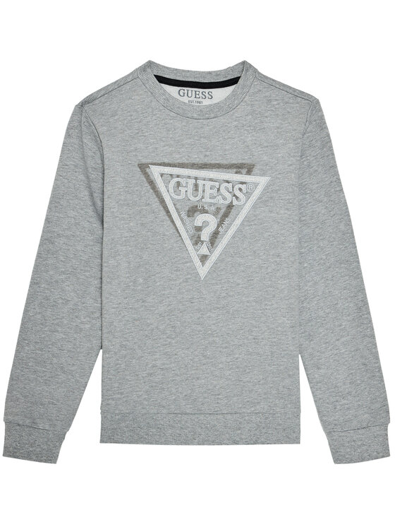 Guess Guess Bluza L0BQ01 KA3T0 Szary Regular Fit