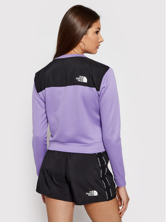 The North Face The North Face Bluza Mountain Athletics NF0A5564WQ71 Fioletowy Regular Fit
