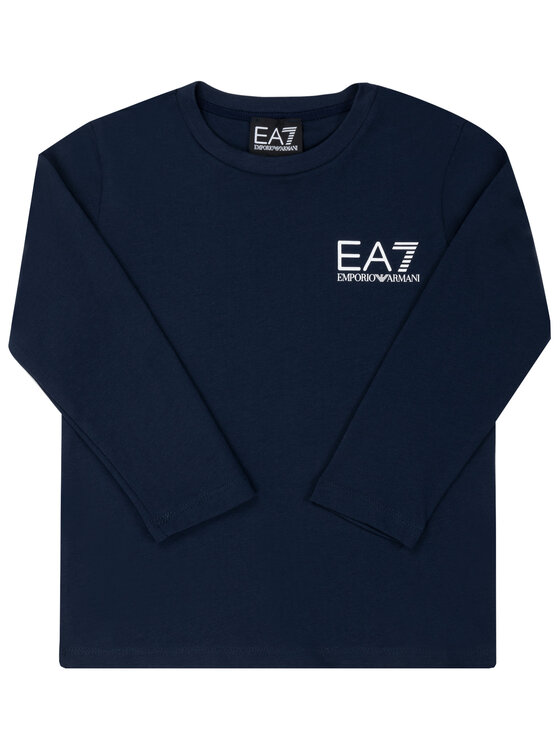 EA7 Emporio Armani EA7 Emporio Armani Блуза 6GBT52 BJ02Z 1554 Тъмносин Regular Fit