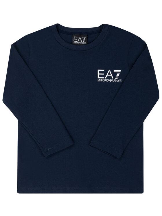 EA7 Emporio Armani EA7 Emporio Armani Palaidinė 6GBT52 BJ02Z 1554 Tamsiai mėlyna Regular Fit