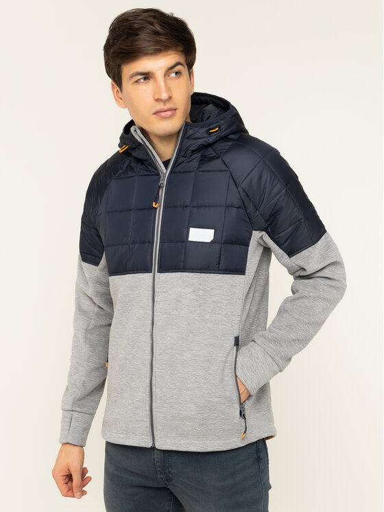 Superdry Superdry Übergangsjacke Polar Fleece Hybrid M2000118A Dunkelblau Regular Fit