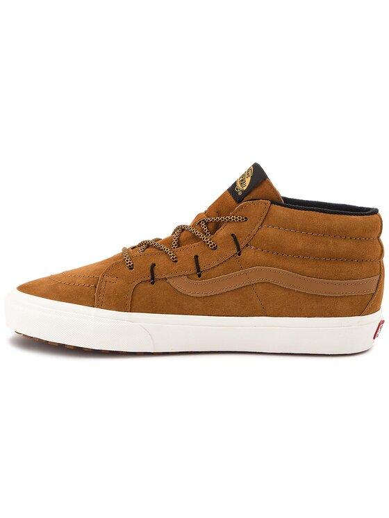 Vans Vans Sneakersy Sk8-Mid Reissue G VN0A3TKQUCS Brązowy