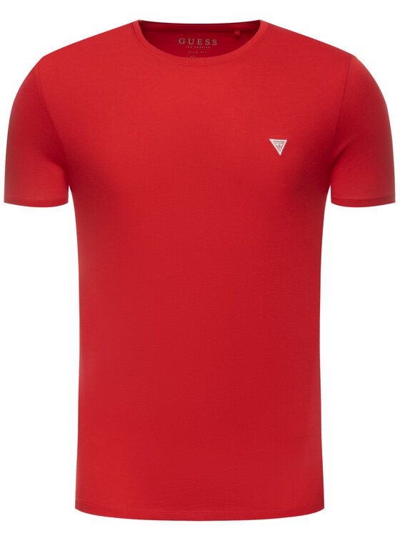 Guess Guess T-shirt M93I60 I3Z00 Rouge Slim Fit