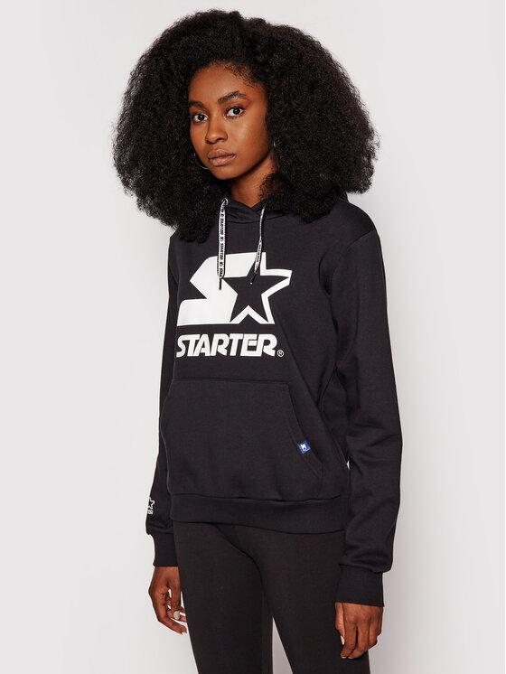 Starter Džemperis SDG-001-BD Juoda Regular Fit