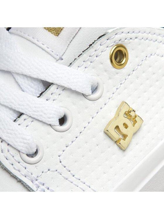 DC DC Πάνινα παπούτσια Trase Le ADJS300145 Λευκό