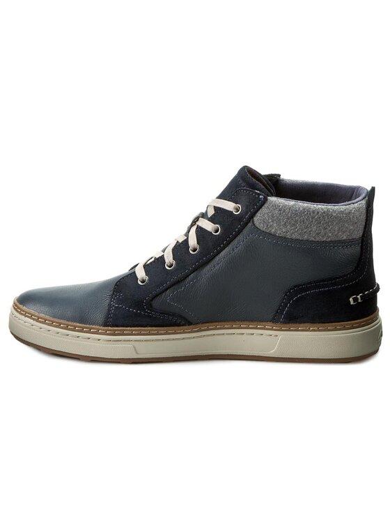 Clarks Clarks Обувки Lorsen Mid 261218757 Тъмносин