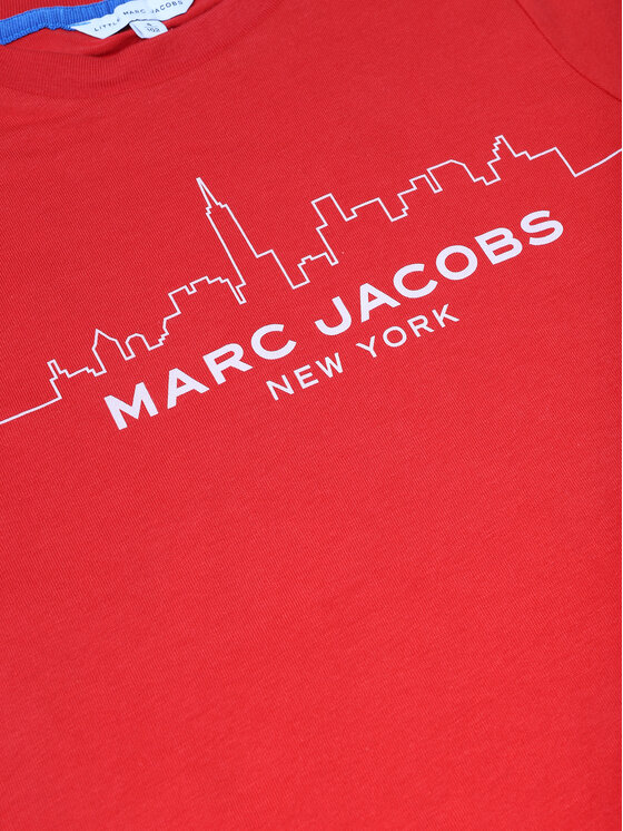Little Marc Jacobs Little Marc Jacobs T-Shirt W25412 Czerwony Regular Fit