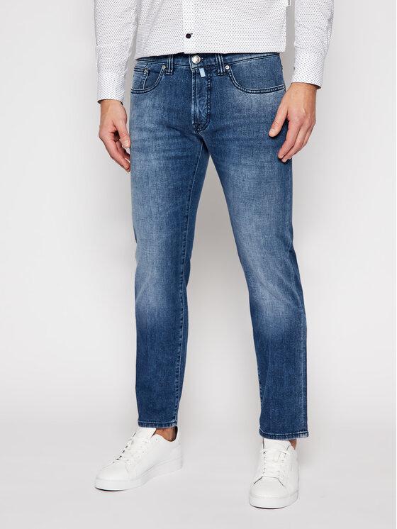 Pierre Cardin Džinsai 30031/000/1502 Tamsiai mėlyna Slim Fit