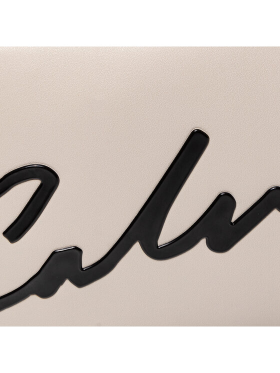 Calvin Klein Jeans Calvin Klein Jeans Torebka Ckj Sculpted Large Camera Bag K60K606573 Beżowy