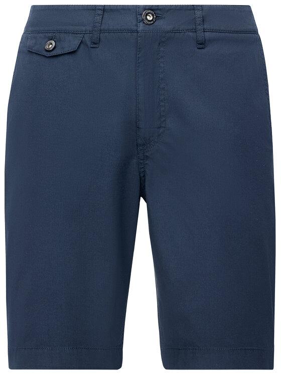 Helly Hansen Helly Hansen Pantalon scurți din material Hh Bermuda 33940 Bleumarin Regular Fit