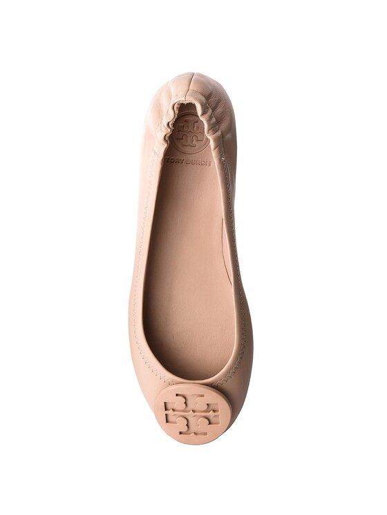 Tory Burch Tory Burch Ballerinas Minnie Travel Ballet With Logo 51158251 Beige