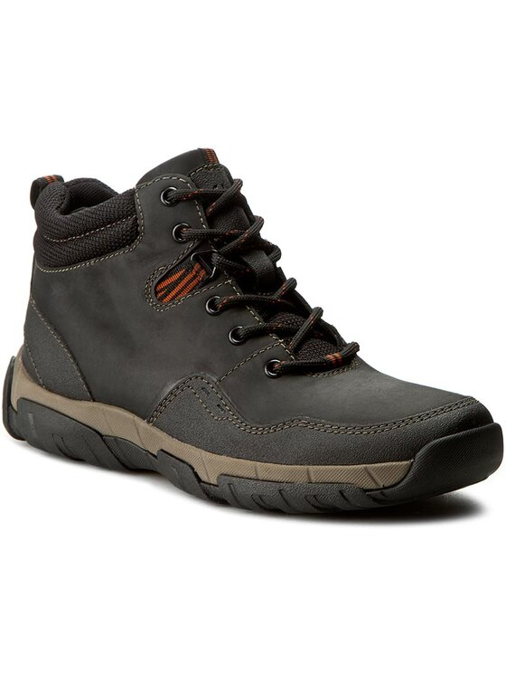 Clarks Clarks Обувки Walbeck Top 261219347 Черен