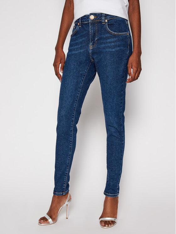 One Teaspoon jeansy_skinny_fit Freebirds II 23185 Tamsiai mėlyna Skinny Fit