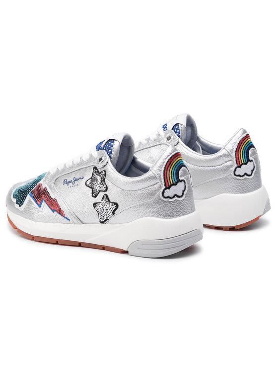 Pepe Jeans Pepe Jeans Sneakers Foster Storm PLS30859 Silberfarben