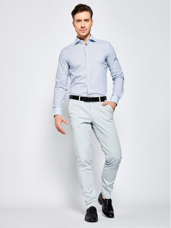 Joop! Joop! Риза 17 JSH-04Panko 30019758 Цветен Slim Fit