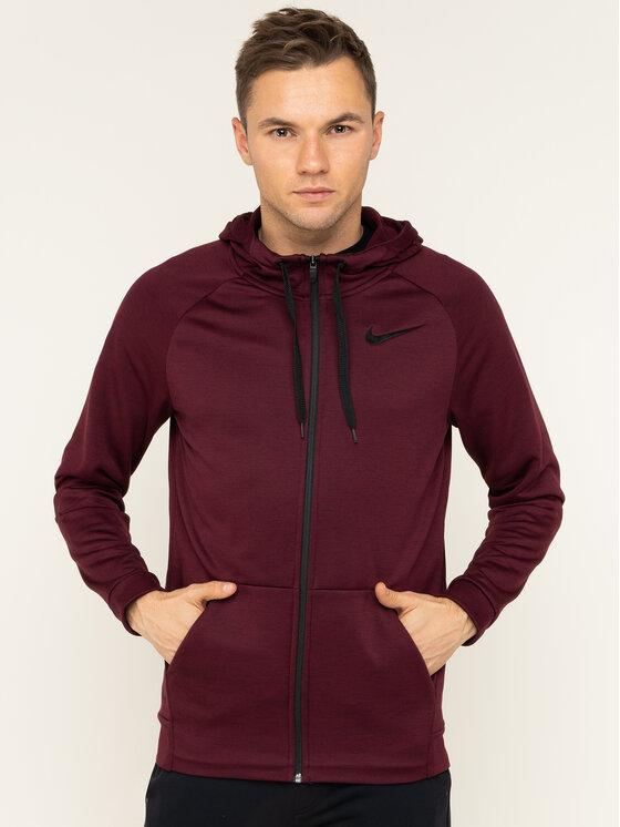 Nike Nike Bluza Dri-Fit 860465 Bordowy Standard Fit