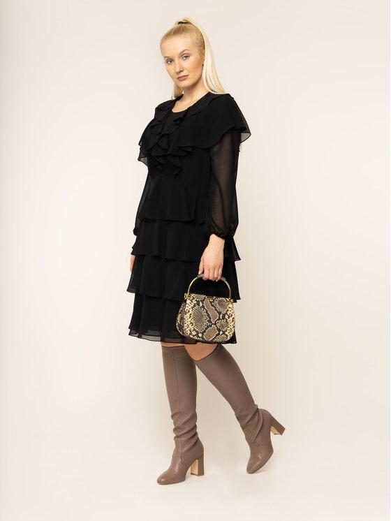 Persona by Marina Rinaldi Persona by Marina Rinaldi Коктейлна рокля 1223249 Черен Regular Fit