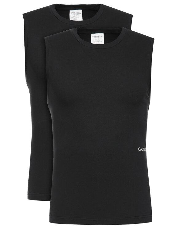 Calvin Klein Underwear Calvin Klein Underwear Комплект от 2 броя топове 000NM1687A Черен Regular Fit