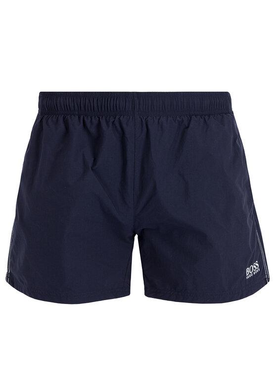 Boss Boss Plaukimo šortai 50385416 Tamsiai mėlyna Regular Fit