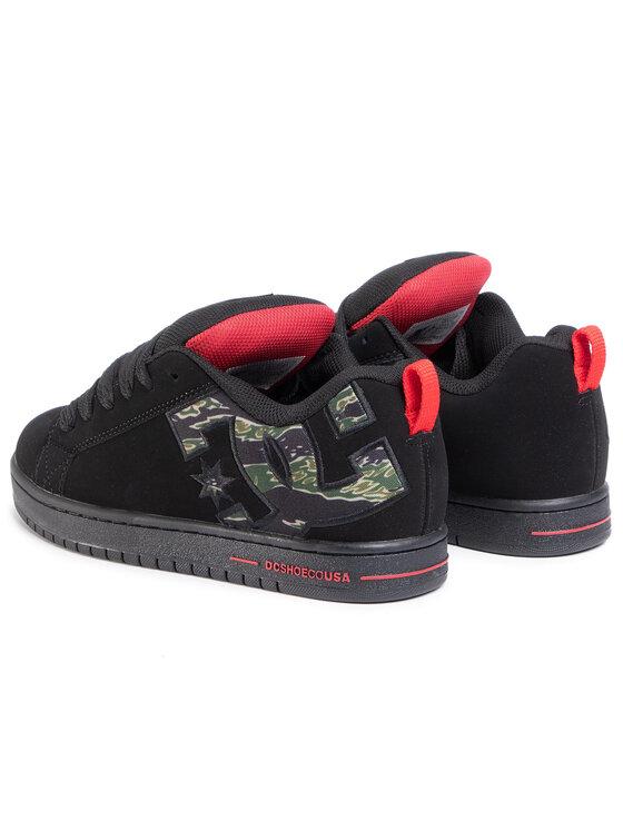 DC DC Sneakersy Court Graffik Se 300927 Czarny