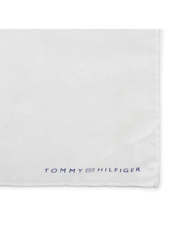 Tommy Hilfiger Tommy Hilfiger Tailored Poszetka Cotton Solid Pocket Square TT0TT08597 Biały