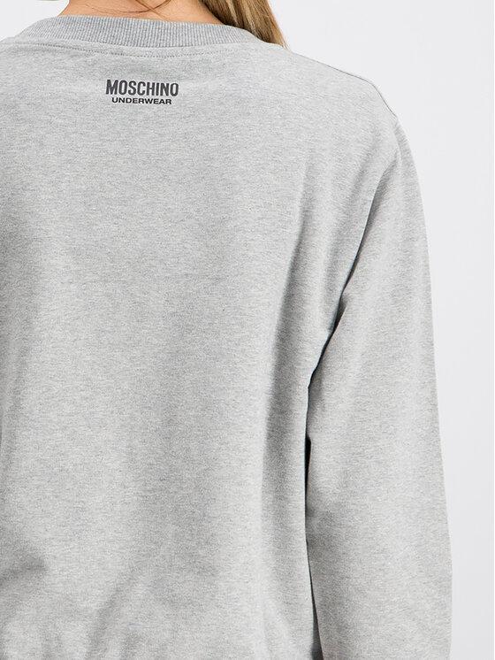 MOSCHINO Underwear & Swim MOSCHINO Underwear & Swim Bluza A1704 9027 Szary Regular Fit