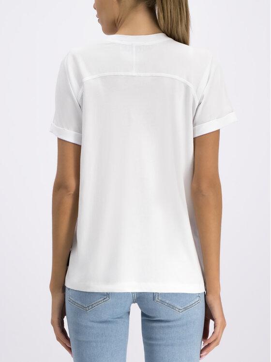 Versace Jeans Couture Versace Jeans Couture T-Shirt B2HUA7EG Weiß Regular Fit