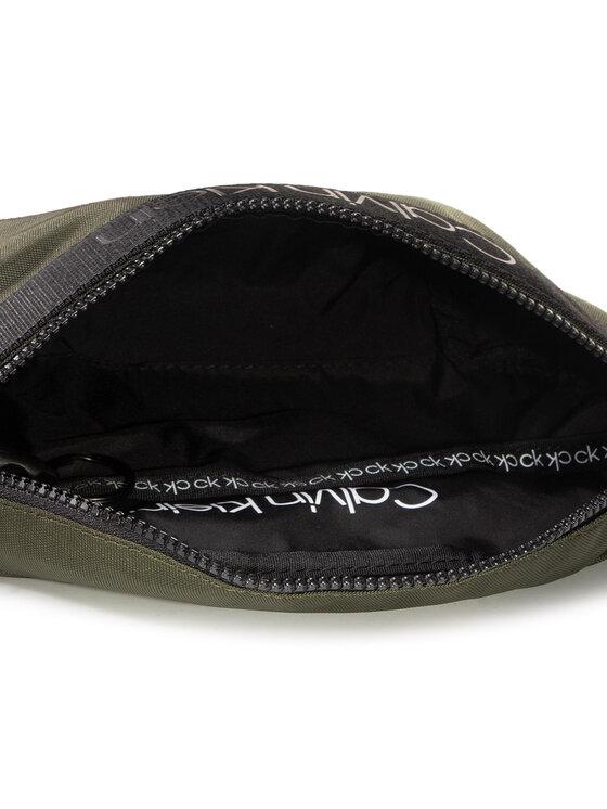 Calvin Klein Calvin Klein Borsetă Nastro Logo Waistbag K50K505672 Verde