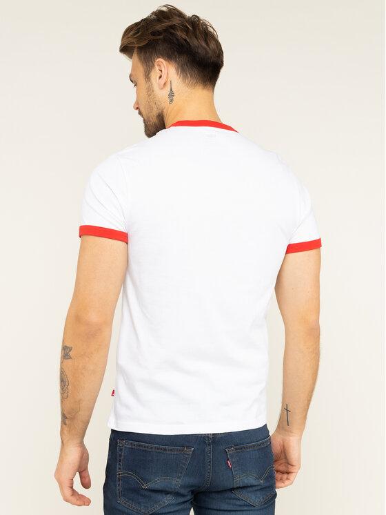 Levi's® Levi's® T-shirt Ringer Tee 39969-0019 Blanc Regular Fit